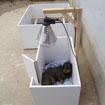 Petite et grande caisses mise bas pour chiens artisanale fabrication française