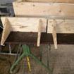 Menuisier - Fabrication d'étagères en bois
